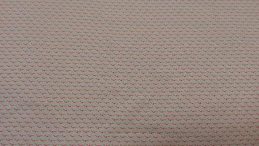 la maison victor viscose grafisch rood wit tuniek folly