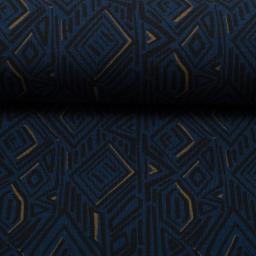 grafich donkerblauw zwart kakai sweattricot imperial mess