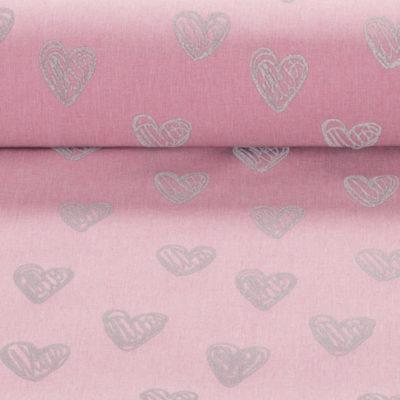 hartjes roze reflecterende softshell pondero