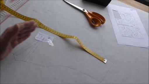 workshop aanpassen patronen naar een groete buste cupmaat borstomvang