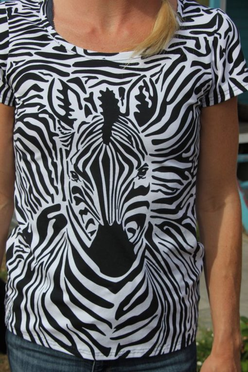 zebra panel swafing safari