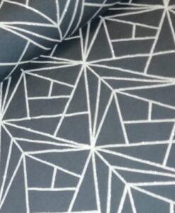 liijnen glitter antrciet katoenen tricot art deco mies&moos