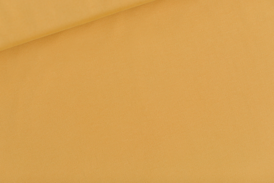 solid color clay ochre french terry