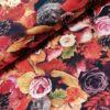 hersftblad egels katoenen digitale tricot