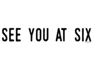 See you at Six logo