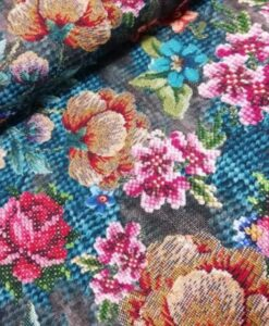 nipidee - Digitale katoenen tricot Knitted Flowers