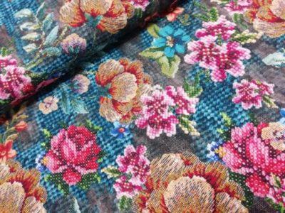nipidee - Digitale katoenen tricot Knitted Flowers