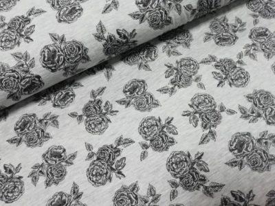 poppy rozen visose polyester tricot romantic rose