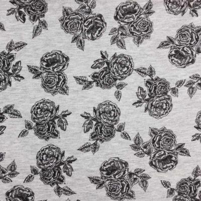 poppy rozen viscose polyester tricot romantic rose