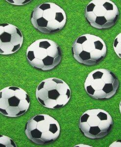voetballen digitale katoenen tricot qjutie