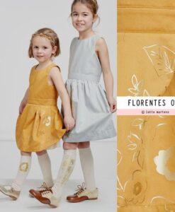 lotte martens go for int paneel florentes oker goud adult