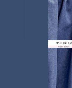 lotte martens polyester viscose uni jeansblauw