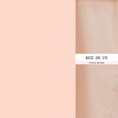 lotte martens uni polyester viscose zalmroze 012