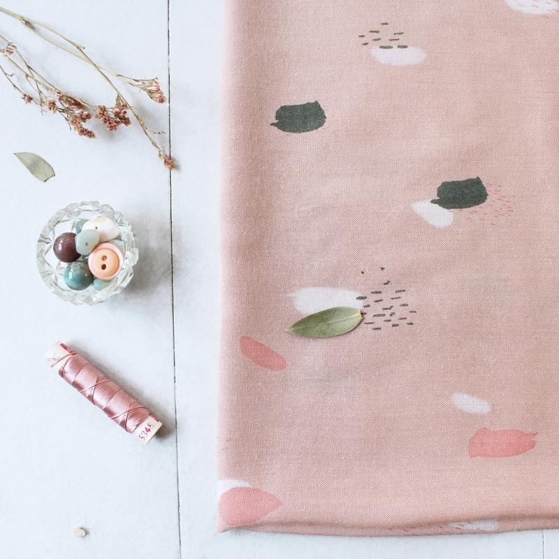 atelier brunette viscose moonstone pink