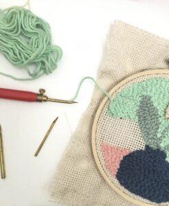 workshop needel punchen naald punchen stof&wol