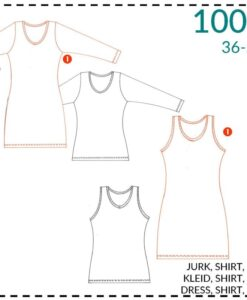 itsafits patroon 1003 basisjurk en tshirt