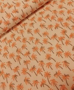 la maison victor rouge luierbroek katoen palmboom