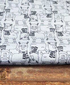 bienvenido coloric=do viva alpaca trico grijsblauw