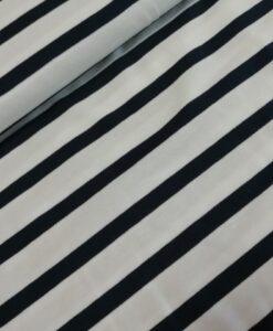 qjutie streep ongelijk wit blauw katoenen tricot stripe jersey