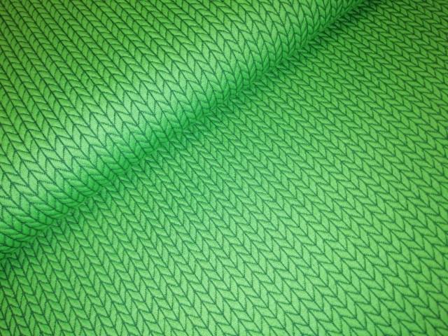 hamburger liebe big knit groen blauw