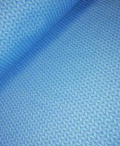 albstoffe hamburger liebe big knit blauw