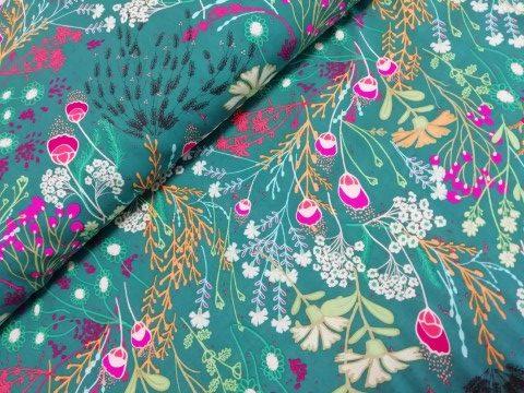 art gallery fabrics rayon viscose meadow bold legendary