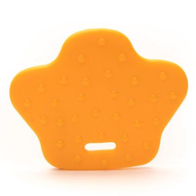 kunststof bijrting dierenpoot Durable geel