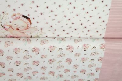 stenzo paneel new baby destionatin happiness roze pink