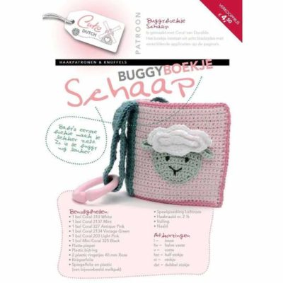 patroon buggyboekje schaap cutedutch durable