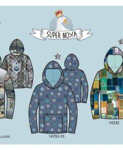supernova Bobby hoodie patroon