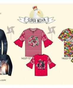 supernova charlie patroon t-shirt