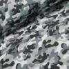 softshell camouflage grijs zwart