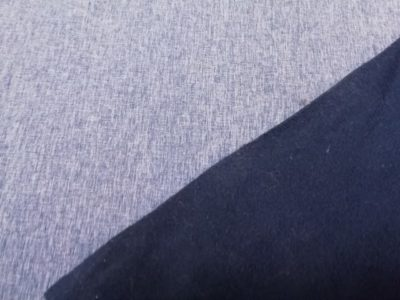 softshell lichtblauw melange swafing