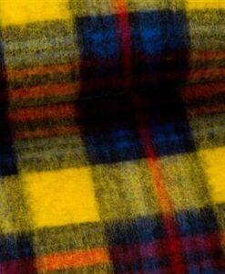 fibre mood wollen ruit geel rood blauw