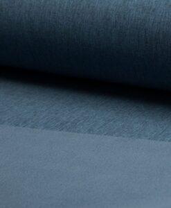 softshell donker jeans melange blauw
