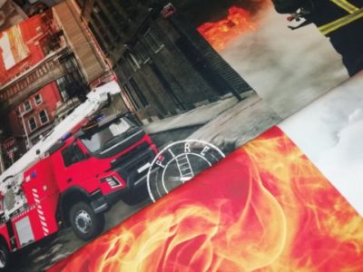 stenzo panel brandweer fireman katoen tricot jersey