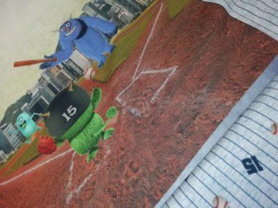 stenzo paneel monsters baseball honkbal katoenen tricot