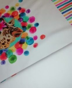 stenzo paneel zebra giraf struisvogel strepen