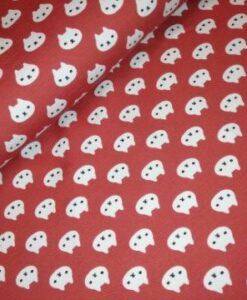 stenzo kattekopjes roestbruin katoenen tricot