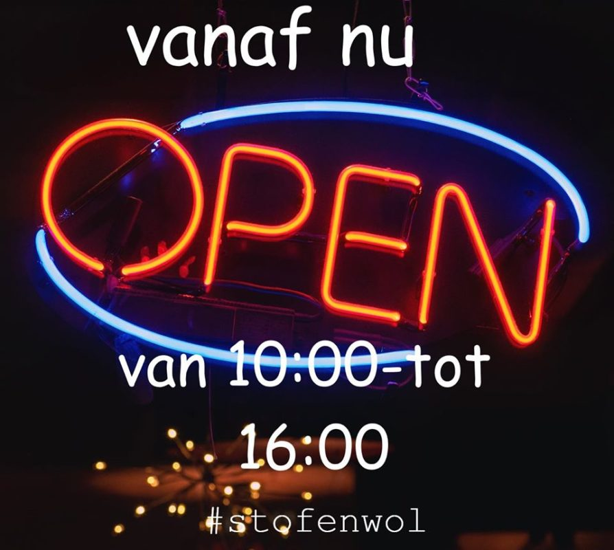 nu open van 10 tot 16