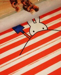 paneel nintje aan zee katoenen tricot Miffy