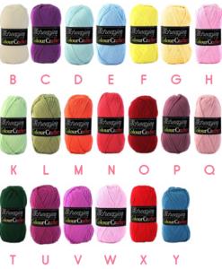 rainbowsampler cl kleuren