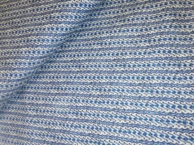 popeline blauw wit javaanse print