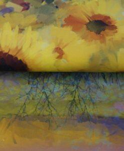 stenzo paneel zonnebloemen