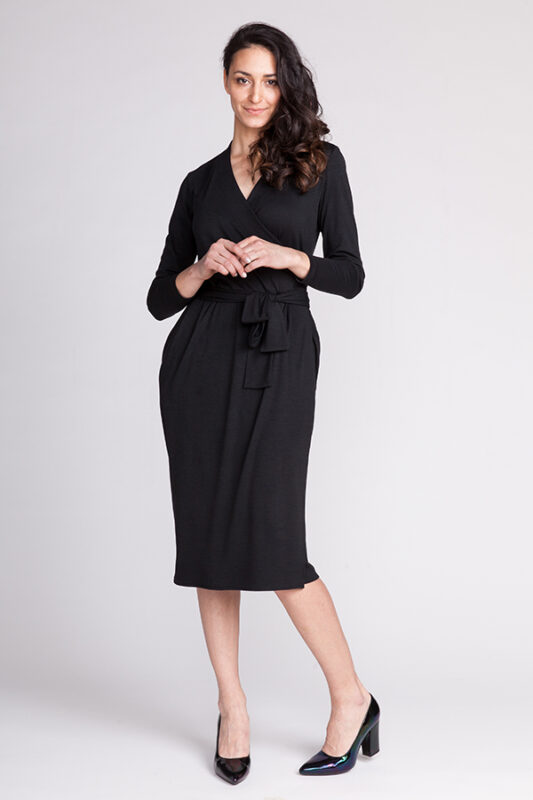named olivia wrap dress