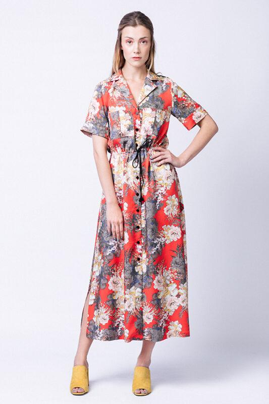 Named Reeta shirt dress