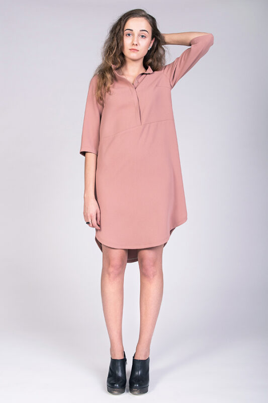 named hemi blouse and tunic dress pattern