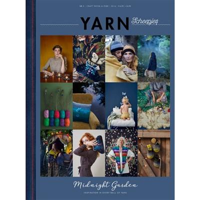 scheepjes yarn 2 bookazine midnight garden