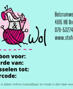 cadeaubon Stof&Wol