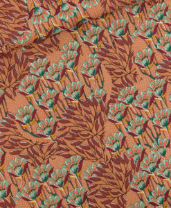 see you at six viscose rayon gilly flowers